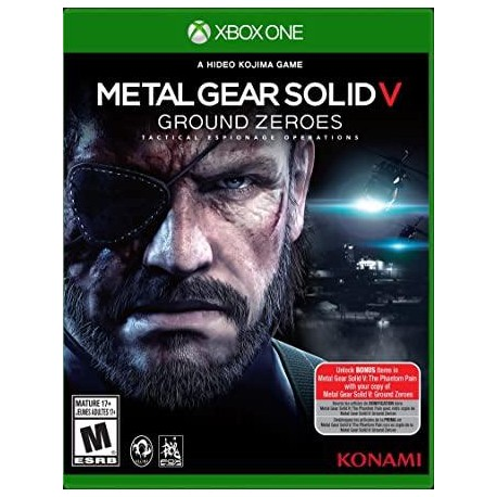 JUEGO XBOX ONE METAL GEAR SOLID V: GROUND ZEROES